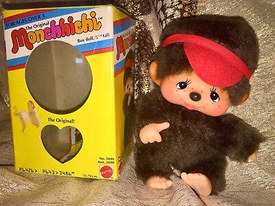Sekiguchi MONCHHICHI Figur Junge CHHICHI Monchichi OVP *Rarität* #z093