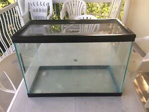 "20 GALLON 24""x12""x17"" AQUARIUM/TERRARIUM WITH STEEL MESH LID"
