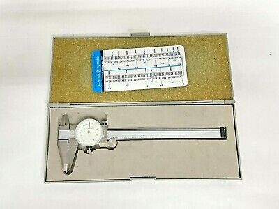 Scherr Tumico Industries Precision Dial Caliper 0-6 Range .001 Graduation