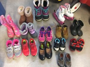 Variety of Kids shoes/boots