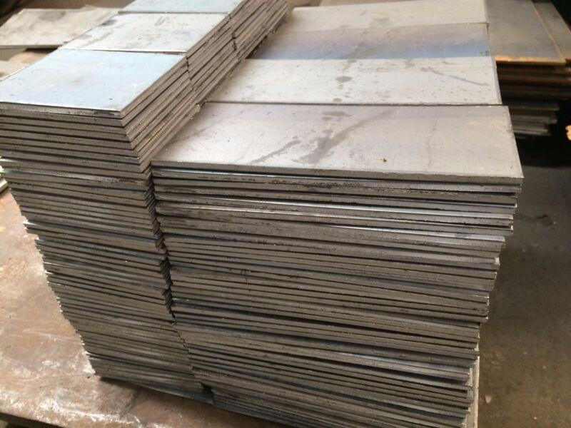 """1/8"""" .125 HRO Steel Sheet Plate 12"""" x 12"""" Flat Bar A36"""