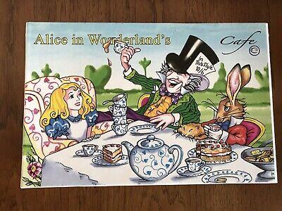 2008 Paul Cardew Design Alice in Wonderland Cafe 8oz Cup And Saucer Set