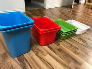 Ikea Bins for the Trofast Stackable Shelving