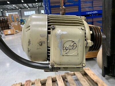 Loher 3-phase Electric Motor 7.4hp 3515rpm