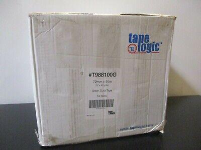 16 Rolls Tape Logic T988100g Green Duct Tape10 Mil 3 X 60 Yds.
