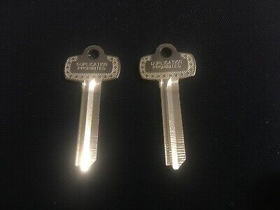 2 Key Blanks - Best G Keyway Quality Ilco Nickel-silver Blank Ilco 1a1g1