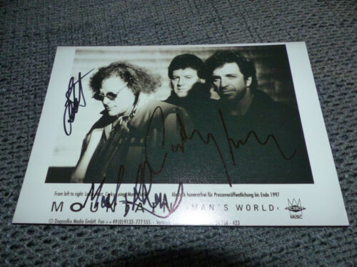 MOUNTAIN signed Autogramm auf 13x18 cm Foto InPerson LOOK