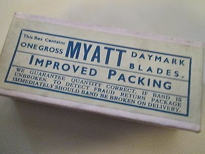 Vintage Myatt Daymark Razors 1 Gross In Box Circa 1920S