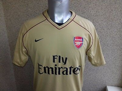 7decc28cf2 ARSENAL LONDON NIKE SOCCER TRAINING FOOTBALL SHIRT L JERSEY NIKE CAMISETA
