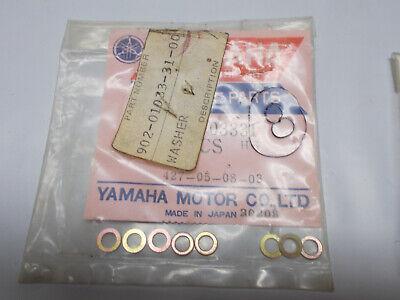 Yamaha 90201-03331 TX500 XS500 Carb Plate Washer Collar OEM SET OF 8 (Y-SPB5)