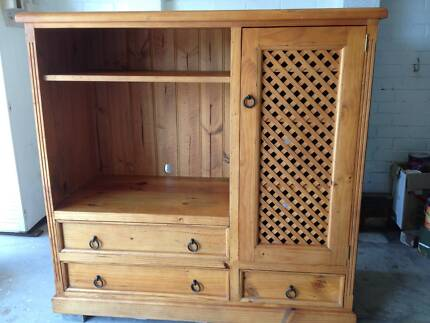 Kauri Pine TV / Entertainment Unit Manly Vale Manly Area Preview