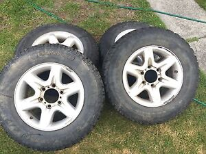 """16"""" 4x4 wheels & tyres 6x139.7 Claremont Glenorchy Area Preview"""