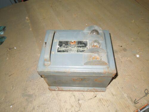 Bulldog Pgr-6314 Ground Detector Plug Busway Unit Potentialzer 3ph 3w 480v Used