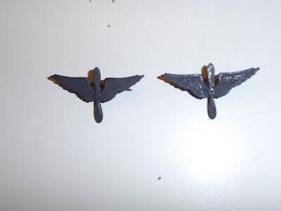 0118p WW1 US Army Air Service Collar Insignia pair IR30D