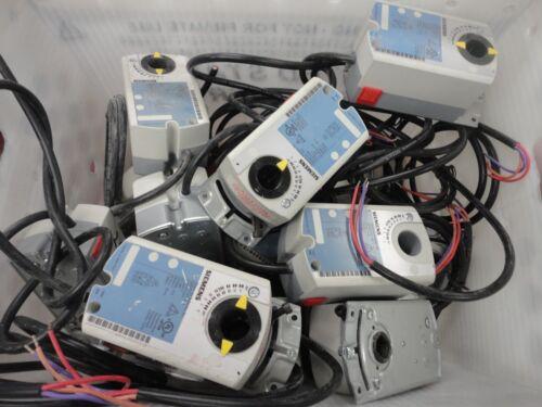 LOT OF 12 Siemens GDE131.1U OpenAir Electronic Damper Actuator