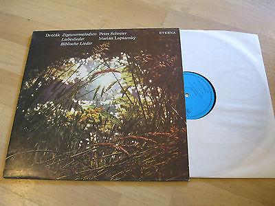 LP Dvorak Zigeunermelodien Liebeslieder Schreier Lapsansky ETERNA Vinyl 827820