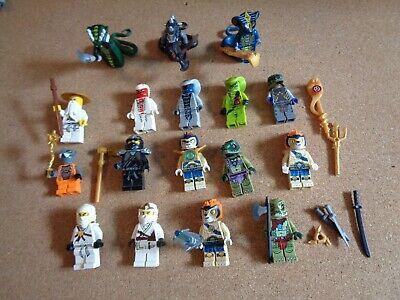 Lot of 17 Ninjago Lego Mini Figures