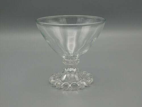 Vintage Anchor Hocking Boopie Clear Champagne/Sherbet Glasses