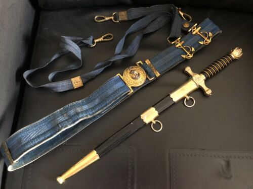 Brazilian  NAVY Dagger + Belt - 1980 Era