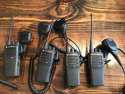 1 Motorola Cp200d 403-470 Mhz 4 Watts Nd Aah01qdc9jc2an. Portable Two Way Radio