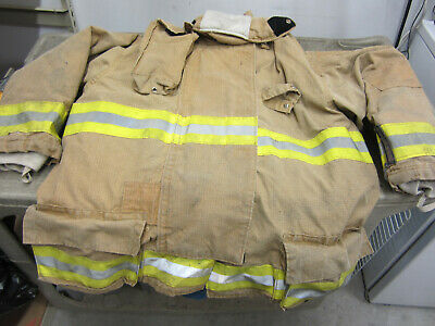 Size 56 3238 34 Morning Pride Fire Fighter Turnout Jacket 2008 Good Vgc