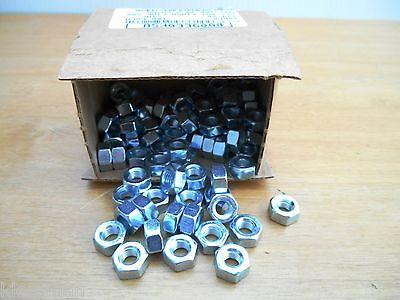 BOX OF 100 15NF5 FINE THREAD ¼-28 GR5 FINISH NUT, NEW