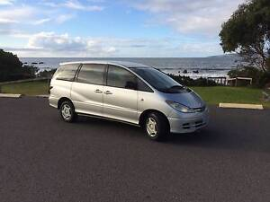 2002 Toyota Tarago Wagon Hawley Beach Latrobe Area Preview