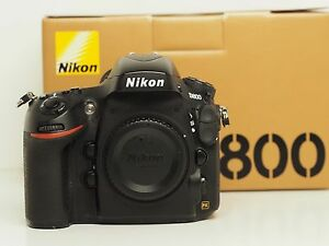 NIKON D800 36.3MP DSLR Camera Body FULL FRAME Only MINT CONDITION Cannington Canning Area Preview