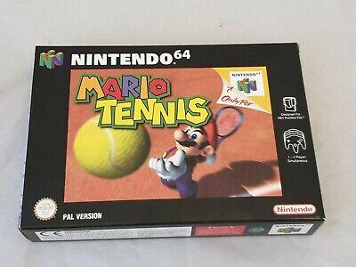 Mario Tennis unbespielt in Ovp Cib Mint in Box / Nintendo 64 / N64 / N 64 / PAL