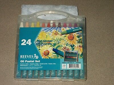 BRAND NEW Reeves Oil Pastel Set - 24 Sticks