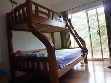 Solid Wood Double Loft Bunk Bed Gladesville Ryde Area Preview