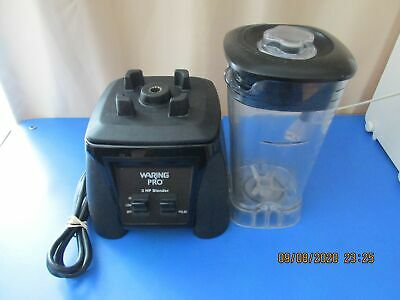 Waring Pro Commercial 3 Hp Blender Mx1000r Hi Lo Pulse Fully Functional