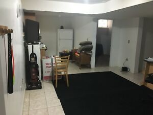 One room available for rent in basement- Airport/Castlemore