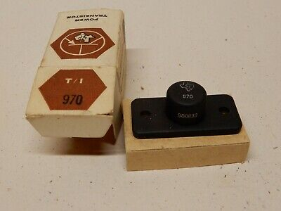Texas Instruments 970 980833 Vintage Transistor Nos Original Package Kcx