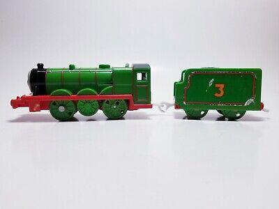 Thomas & Friends Trackmaster motorized train engine Henry #3 w/tender 2009