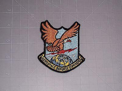 Us Air Force Aerospace Defense Cmd  Usaf  Flight Suit   Pocket Patch  Rare