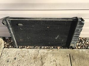 2 core radiator 67-72 Chevy GMC