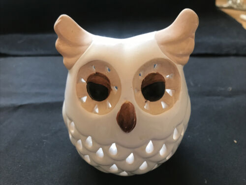 Owl Candle Holder - $5.00
