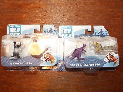 NEW Ice Age Continental Drift figure toy playset Scrat Gupta Flynn Rasmussen Box