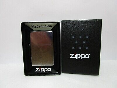 2015 ZIPPO LIGHTER WITH BOX AND PAPERS UNUSED