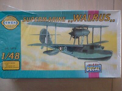 Maquette avion 1/48 SMER Ref 815 Supermarine Walrus