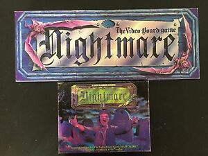 Nightmare and Nightmare II Vintage Board Games