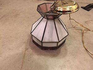 Beautiful Tiffany style stained glass lights