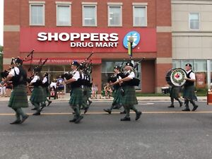 Learn to play the Pipes or Drums!