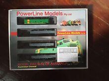 Powerline Model train set Hendra Brisbane North East Preview
