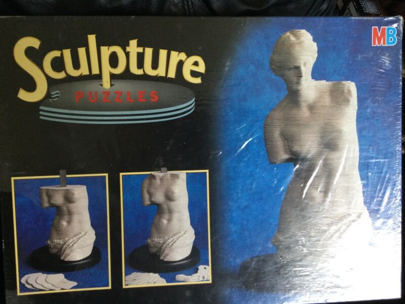 3D MB Sculpture Puzzle Venus De Milo 190+ Pieces New Sealed