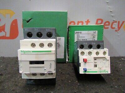 Schneider Electric Lc1d32 B7 Lrd10 24v Contactor Non Reversing 4-6a Relay Lot