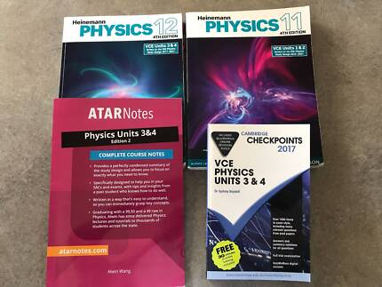 VCE Heinemann Physics + Study Aids