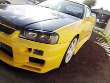 1999 Nissan Skyline R34 25GT-T Coupe 2dr Man 5sp 2.5T Gladstone Park Hume Area Preview