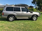 2002 Toyota LandCruiser 100 series factory turbo diesel gxl Glenorie The Hills District Preview